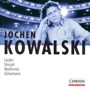 Jochen Kowalski - Lieder Product Image