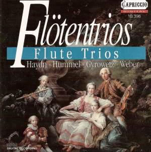 Flute Trios: Hummel, Haydn, Gyrowetz & Weber Product Image