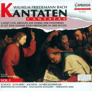 Wilhelm Friedemann Bach: Cantatas Vol. 1 Product Image