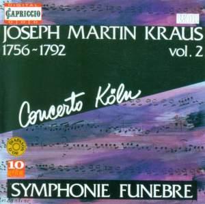 Joseph Martin Kraus: Symphonies Volume 2 Product Image