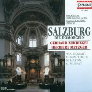Organ Recital: Metzger, Heribert / Zukriegel, Gerhard - BUXTEHUDE, D. / BRUNA, P. / PIAZZA, G. / MUFFAT, G. / HAYDN, M. / EBERLIN, J.E. Product Image