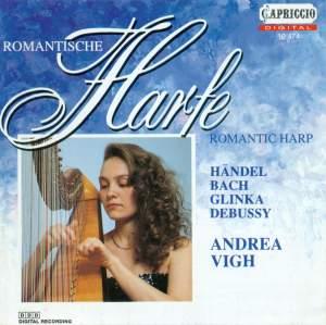 Harp Recital: Vigh, Andrea - BACH, J.S. / HANDEL, G.F. / PESCETTI, G.B. / GLINKA, M.I. / DURAND, A. / DEBUSSY, C. / FAURE, G. Product Image