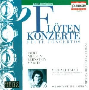 Ibert, Nielsen, Bernstein & Martin: Flute Concertos Product Image