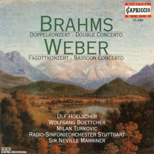 Brahms: Double Concerto for Violin & Cello in A minor, Op. 102, etc. Product Image