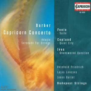 Barber - Capricorn Concerto Product Image