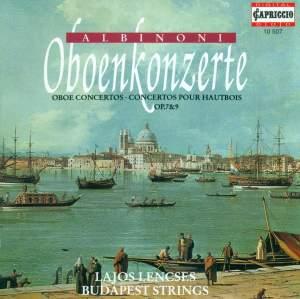 Albinoni: Oboe Concertos, Opp. 7 & 9 Product Image