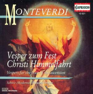 Monteverdi: Vespers for the Feast of the Ascension Product Image