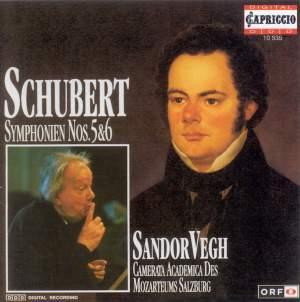 Schubert: Symphonies Nos. 5 & 6 Product Image