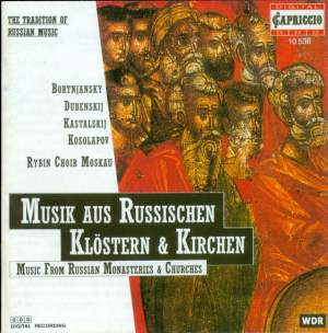 Music from Russian Monasteries and Churches Product Image