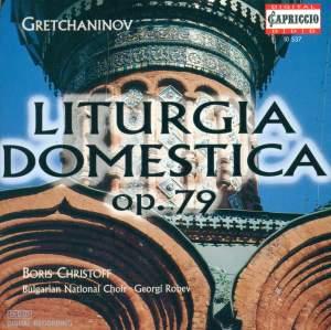 Grechaninov: Liturgia Domestica Opus 79 Product Image