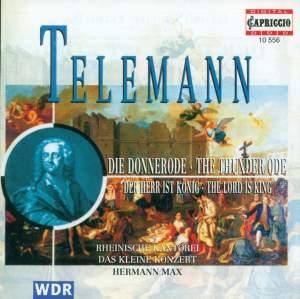 Telemann: Der Herr ist König & Die Donner-Ode Product Image