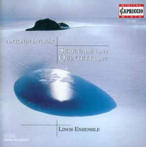 Dvorak: Serenade for Winds & String Quintet No. 2