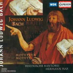 Johann Ludwig Bach: Motets Product Image