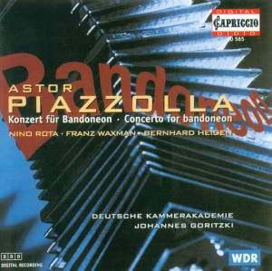 Piazzólla: Concerto for Bandoneon & Orchestra 'Aconcagua', etc.