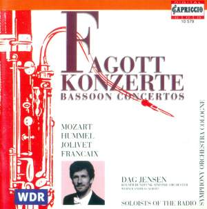 Bassoon Concertos Product Image