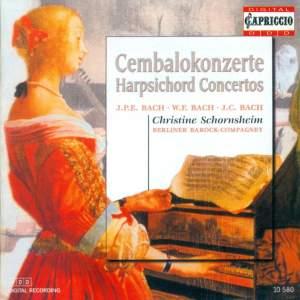 C.P.E., W.F. & J.C. Bach: Harpsichord Concertos Product Image