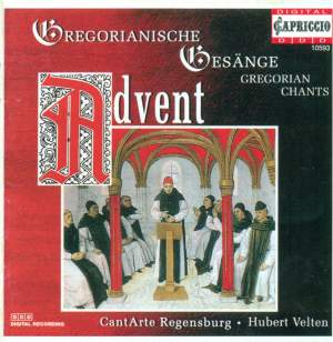 Advent Gregorian Chants Product Image