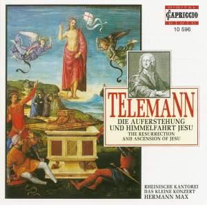 Telemann: Die Auferstehung und Himmelfahrt Jesu, TWV 6:6 Product Image