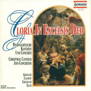 Choral Concert: Berlin Capella Cantorum - KRIEGER, J.P. / ZACHOW, F.W. / ERLEBACH, P.H. / BACH, J.S. Product Image