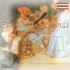 Carulli: Guitar Concertos Product Image
