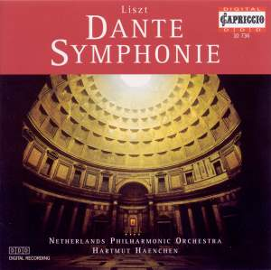 Liszt: Dante Symphony, etc Product Image