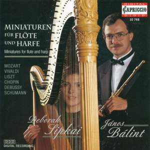 Miniatures for Flute and Harp Product Image