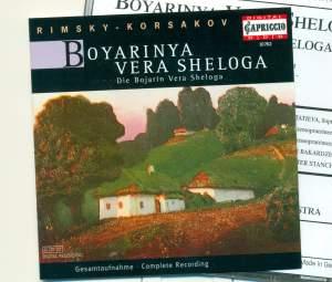 Rimsky Korsakov: Boyarinya Vera Sheloga Product Image