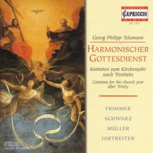 Telemann - Harmonischer Gottesdienst Product Image