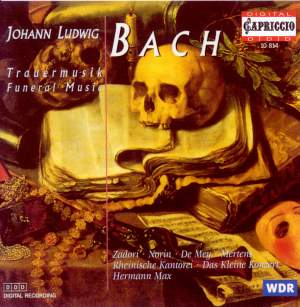 Bach, J Ludwig: Trauermusik Product Image