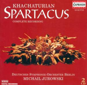 Khachaturian, A.I.: Spartacus [Ballet] Product Image