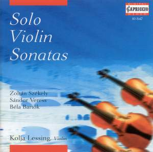 Solo Violin Sonatas Product Image