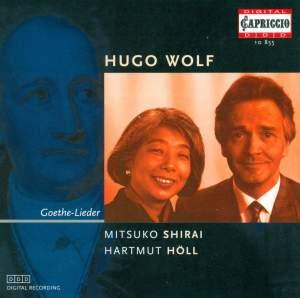 WOLF, H.: Goethe Lieder (Shirai, Holl) Product Image