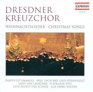CHRISTMAS SONGS (Dresdner Kreuzchor, Flamig)