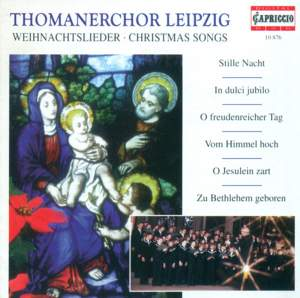 CHRISTMAS SONGS (Leipzig Thomaner Choir, Rotzsch Product Image