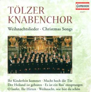 CHRISTMAS SONGS (Tolzer Boys Choir, Schmidt-Gaden) Product Image