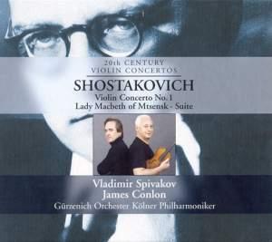 Shostakovich: Violin Concerto No. 1 & Suite from Lady Macbeth Product Image