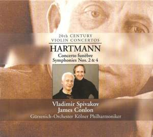 Hartmann, K: Concerto Funèbre for violin & string orchestra, etc. Product Image