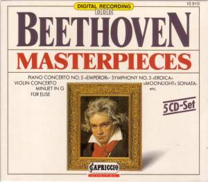 Beethoven Masterpieces, Vols. 1-5 Product Image