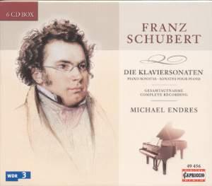 Schubert Piano Sonatas Product Image