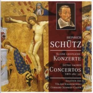 Schütz: Kleine Geistliche Konzerte SWV282-337 Product Image