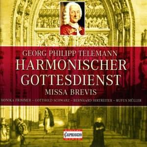 Telemann: Harmonischer Gottesdienst, Missa brevis Product Image