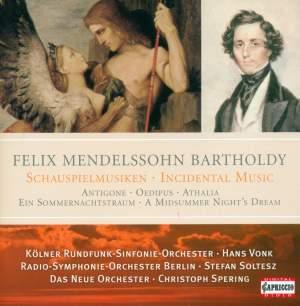Mendelssohn - Incidental Music Product Image