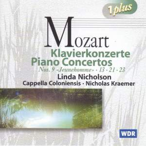 "Mozart: Piano Concerto No. 9 in E-flat major, K271 ""Jeunehomme"", etc. Product Image"