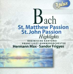 Bach, J S: St Matthew Passion (highlights), etc. Product Image