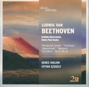 Beethoven: Piano Sonata No. 8 in C minor, Op. 13 'Pathetique', etc. Product Image