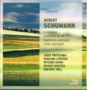 Schumann: Dichterliebe, Op. 48, etc. Product Image