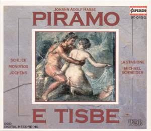 Hasse, J.A.: Piramo E Tisbe [Opera] Product Image
