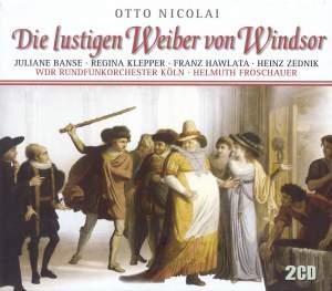 Nicolai, C O: Die lustigen Weiber von Windsor Product Image