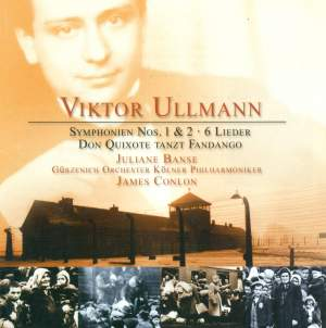 Ullmann, V: Symphony No. 1 'On my Youth', etc. Product Image