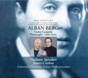 Berg: Violin Concerto 'To the Memory of an Angel' (1935), etc. Product Image